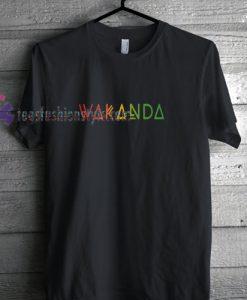 Wakanda Rainbow t shirt