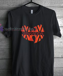 Wakandan Orange t shirt