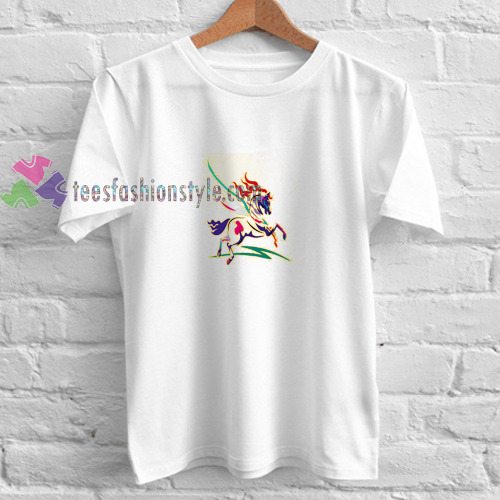 Abstrack Horse t shirt