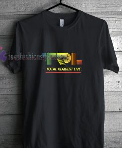 TRL MTV Neon t shirt