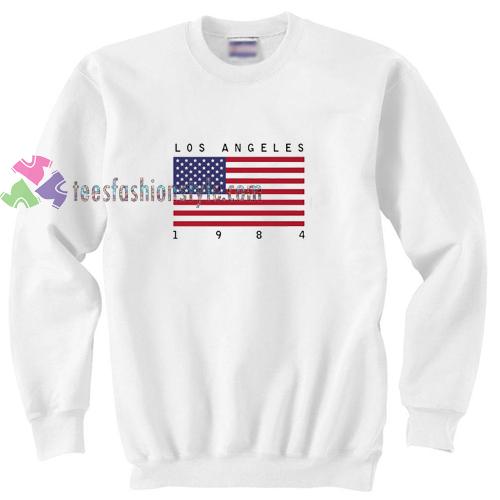 6dc54feae3 Los Angeles 1984 Sweatshirt Gift sweater adult unisex cool tee shirts