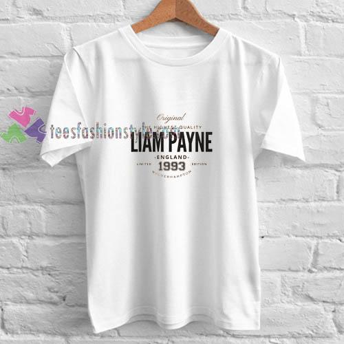 Liam Payne England t shirt