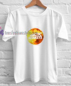 Arctic Monkeys Moon t shirt