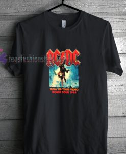 ACDC Blow Up t shirt