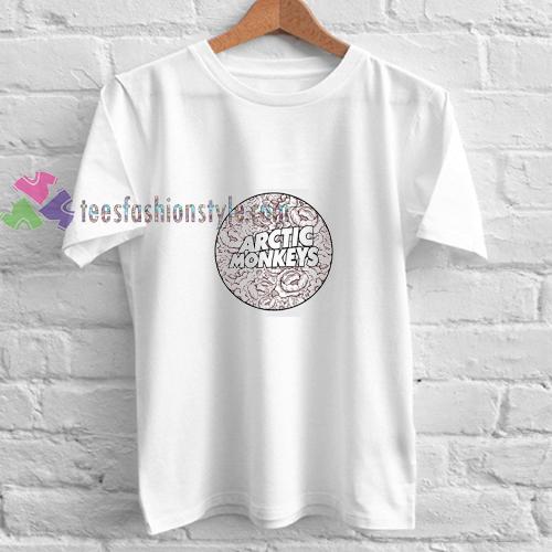 1343b98c1 Circle Arctic Monkeys t shirt gift tees unisex adult cool tee shirts ...