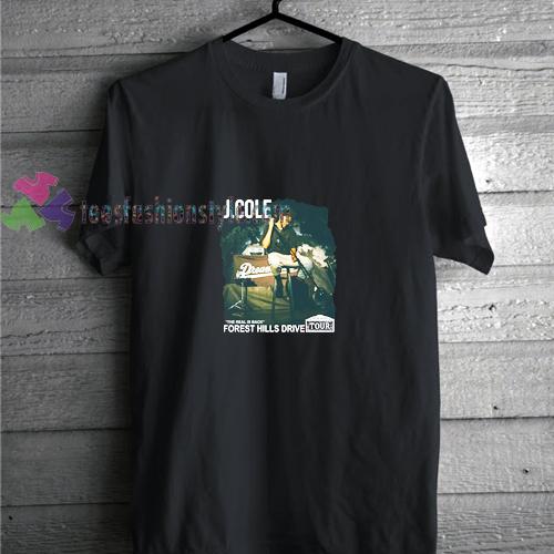 J Cole t shirt