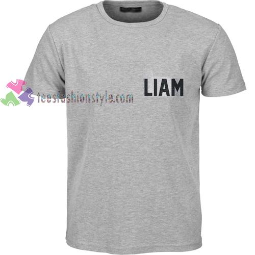 Liam Font t shirt