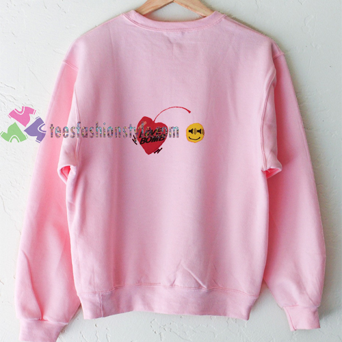 Love Bomb Sweatshirt