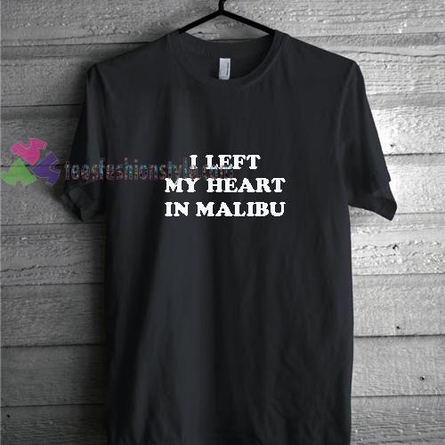 Malibu Heart t shirt