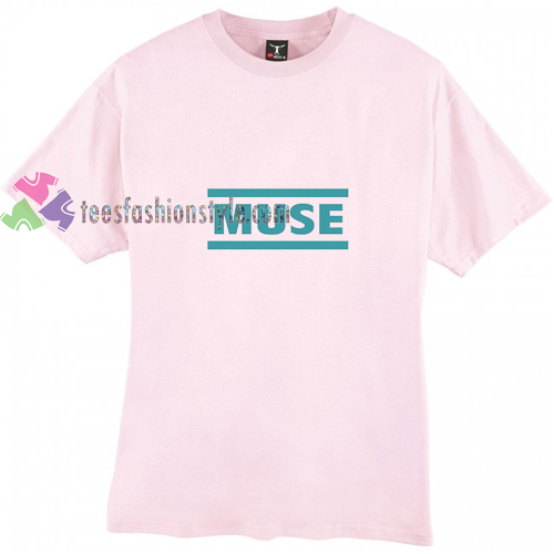 Muse Blue t shirt