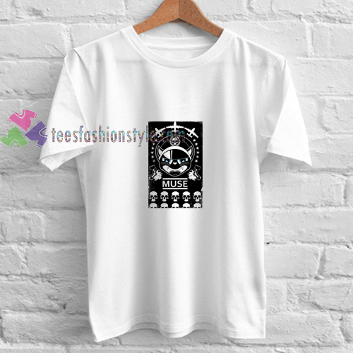 Muse Cat and Skull t shirt
