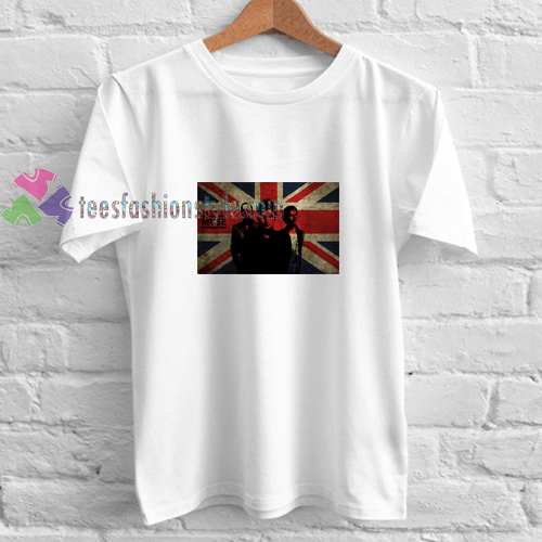 Muse Uk Flag t shirt