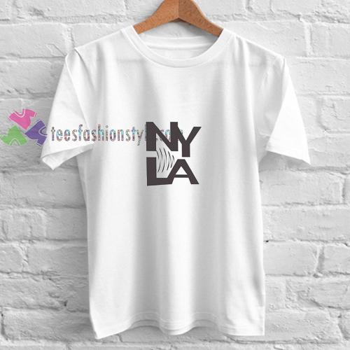 NY LA t shirt