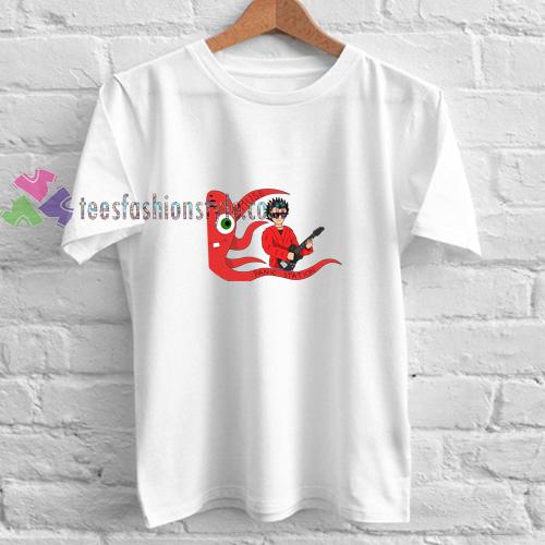 Panic Octopus t shirt