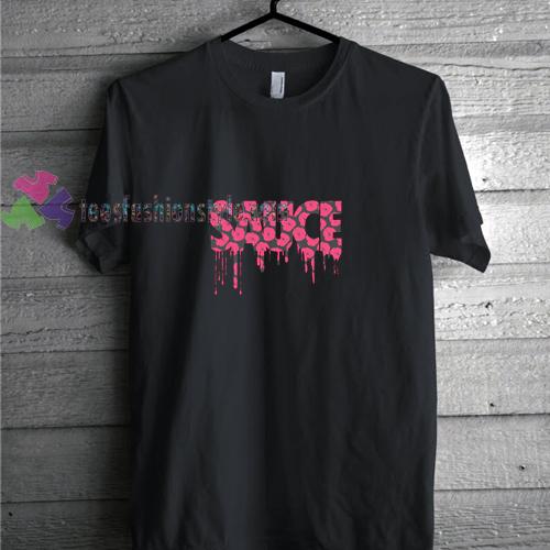 Sauce Flower t shirt