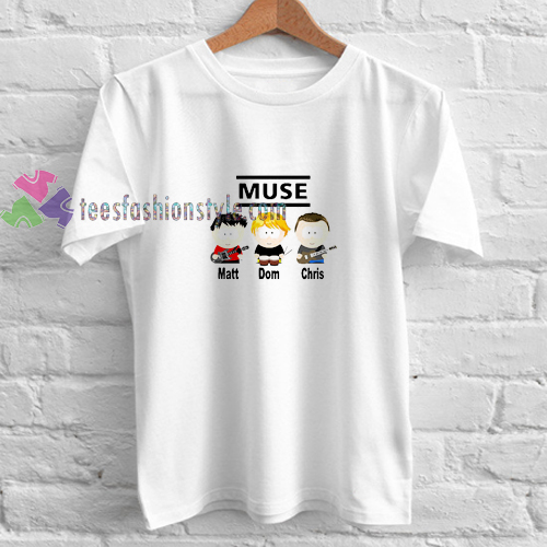 Muse Southpark t shirt