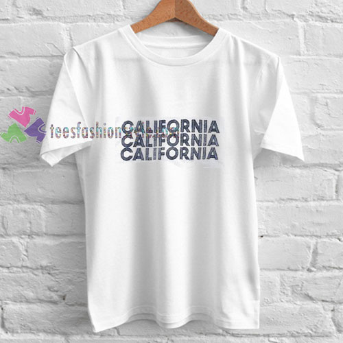 Triple California t shirt
