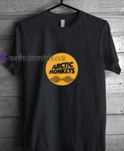 Yellow Logo Arctic t shirt