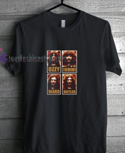 Young Black Sabbath t shirt