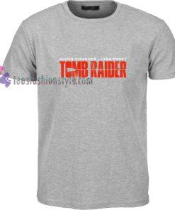 Alicia Vikander t shirt