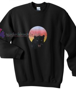 Cat Hallowen Sweatshirt