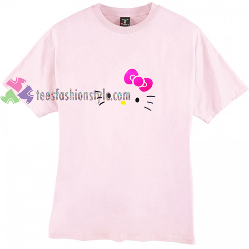 6f5defc05 Hello Kitty Pink t shirt gift tees unisex adult cool tee shirts buy ...