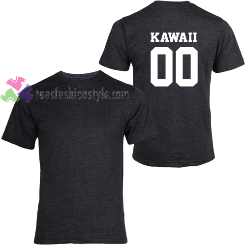 Kawaii 00 Back t shirt