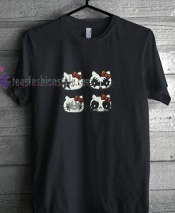 Kitty Kiss t shirt