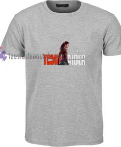Tomb Raider Woman t shirt