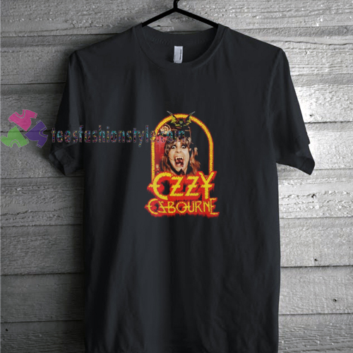 Ozzy Bat t shirt