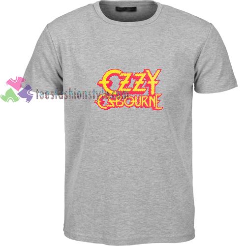 Ozzy Esbourne Grey t shirt
