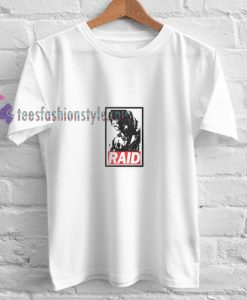 Tomb Raider Raid t shirt