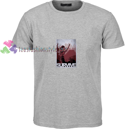 Tomb Raider Survive t shirt