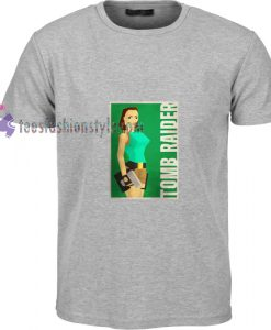 Tomb Raider Grey t shirt
