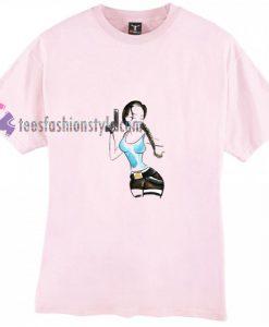 Tomb Raider Sketch t shirt