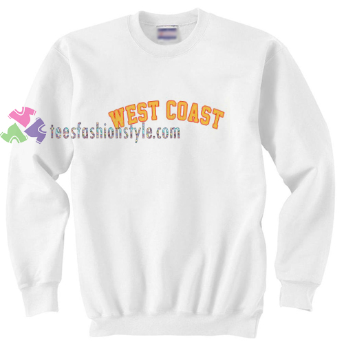 Westcoast White Sweatshirt