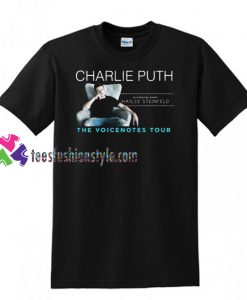 Charlie Puth The Voicenotes Tour 2018 Shirt