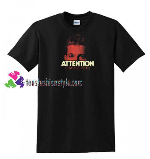Charlie Puth Attention T Shirt