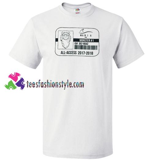 Fall Out Boy Rare All-Access Mania T Shirt