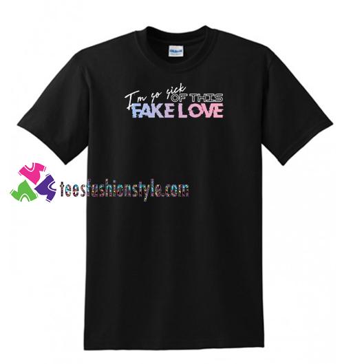 Fake Love Shirt, BTS T Shirt