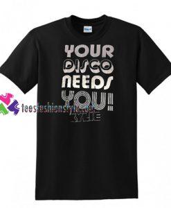 Your Disco Needs You Hyde Park Golden Tour T Shirt
