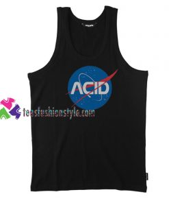 Acid Logo Nasa Tank Top gift tanktop shirt unisex custom clothing Size S-3XL
