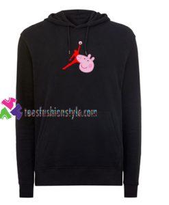 Air Jordan X Peppa Pig Parody Hoodie gift cool tee shirts cool tee shirts for guys