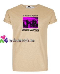 All American Boyband Brockhampton T Shirt gift tees unisex adult cool tee shirts