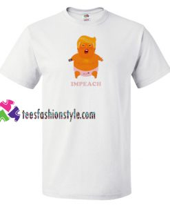 Angry Trump Baby Funny T shirt gift tees unisex adult cool tee shirts