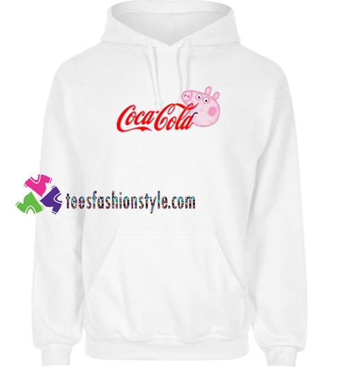 316637f5173a Coca Cola Coke X Peppa Pig Parody Hoodie gift cool tee shirts cool ...