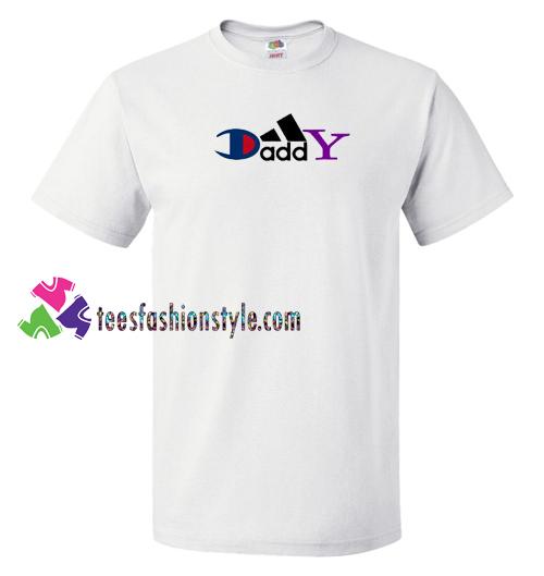 4deeebdf Daddy Champion Brand Parody T Shirt gift tees unisex adult cool tee shirts