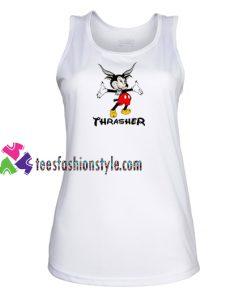 Thrasher Mickey Disney Tank Top gift tanktop shirt unisex custom clothing Size S-3XL