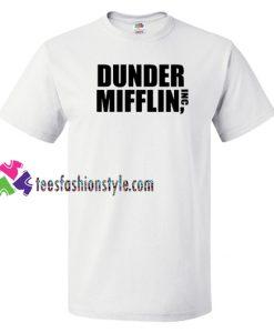 Dunder Mifflin Inc T shirt gift tees unisex adult cool tee shirts