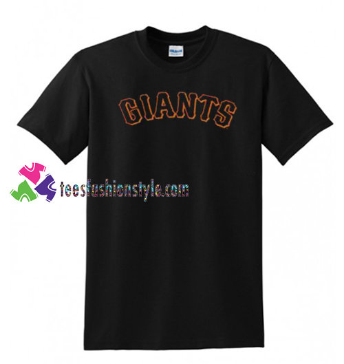 Giants T Shirt gift tees unisex adult cool tee shirts